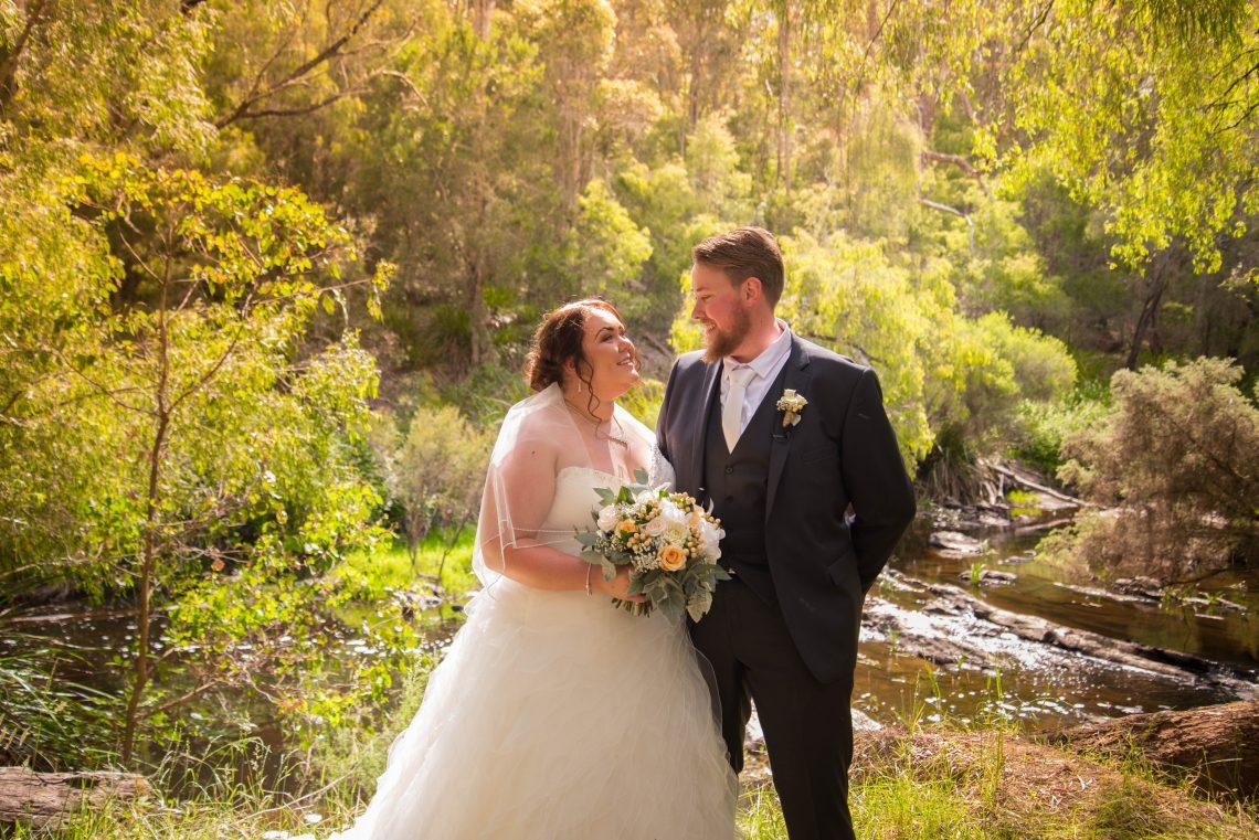 ashleigh & ashley wedding